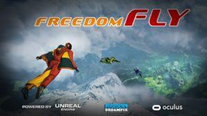 Freedom Fly симулятор полета VR игры Xtrematic