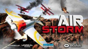 vr flight simulator air storm by Xtrematic