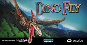 """""""Dino Fly"""" - new VR game for Extreme machine"""