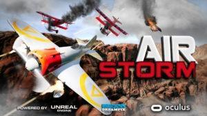VR игры, симулятор самолёта