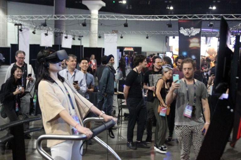 Симулятор экстремальных видов спорта виртуальной реальности X-Machine для мероприятий