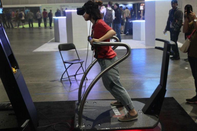 Our clients VR Exhibition simulator Extreme-Machine