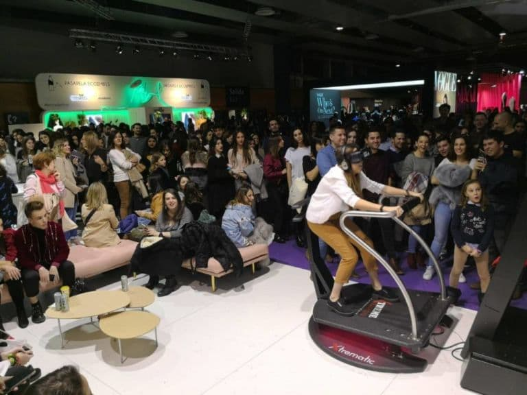 Extreme-Machine in VR Centre