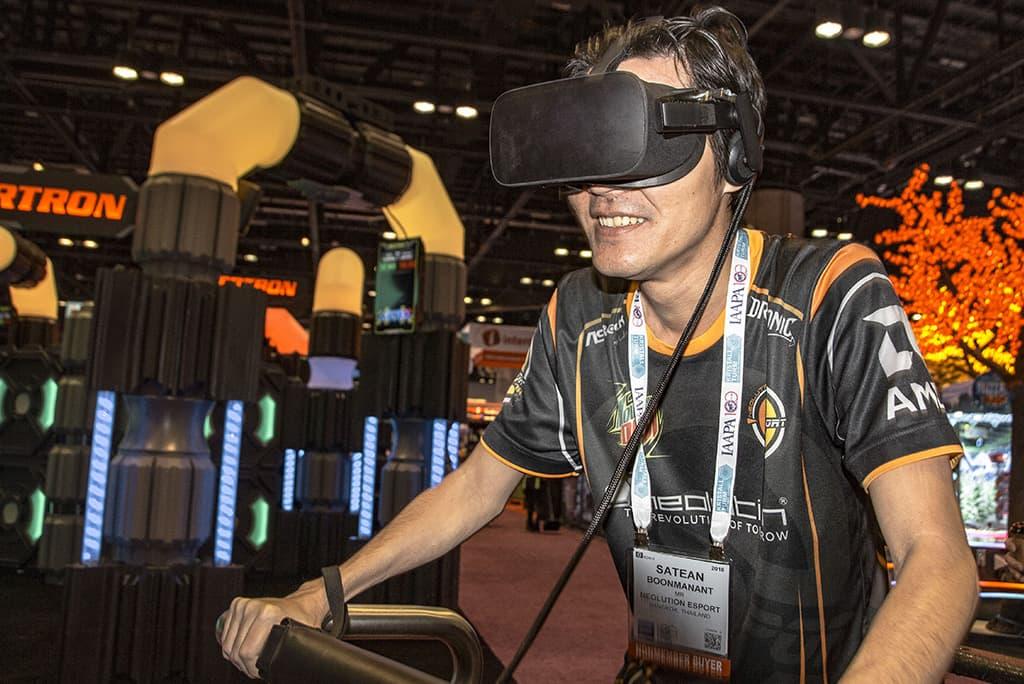 virtual reality rides