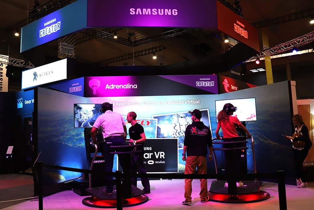 virtual reality amusement